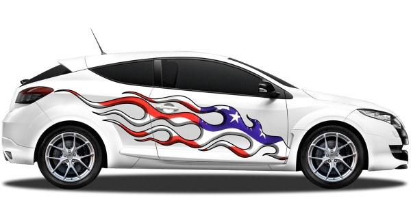 Flaggen Als Autoaufkleber Für Beide Fahrzeugseiten