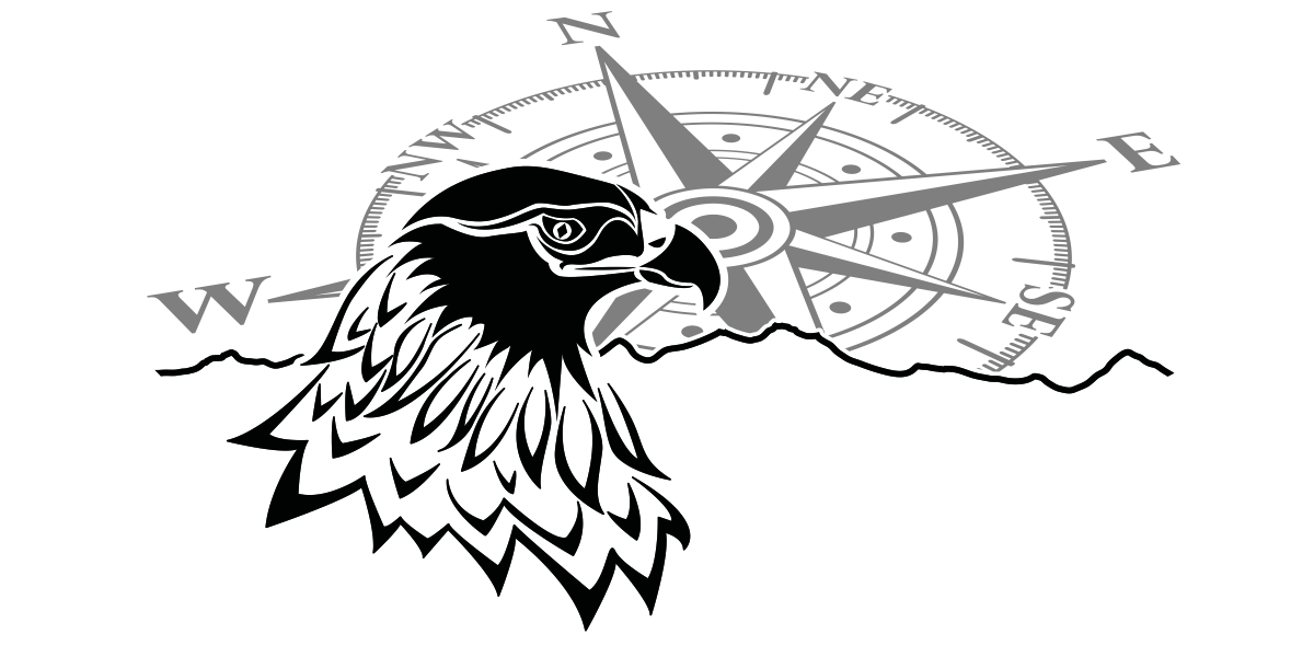 Wohnwagen Sticker Windrose Mit Adler